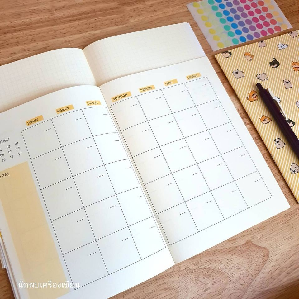 Planner Book Size A5