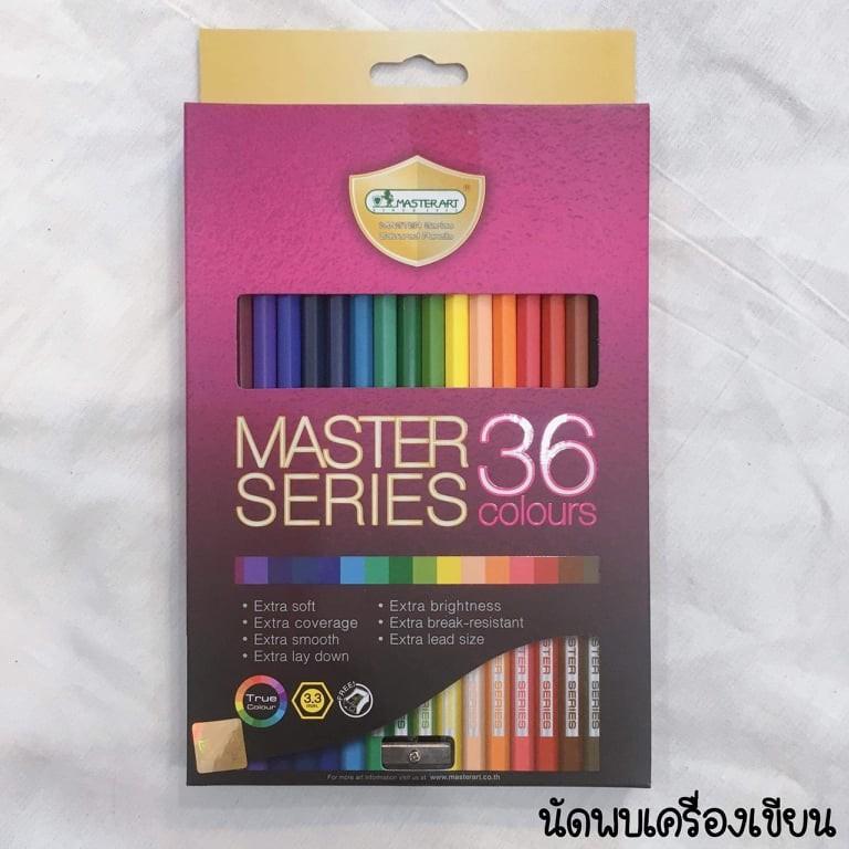 สีไม้ MASTER SERIES 36 COLOURS