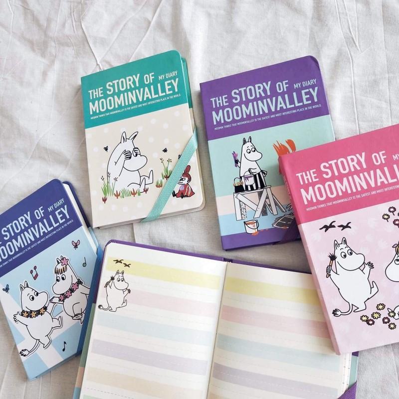 สมุด The Story of My diary Moomin VALLEY