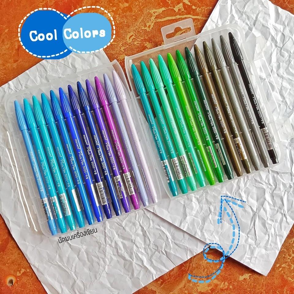 Monami Pluspen 48 Colors