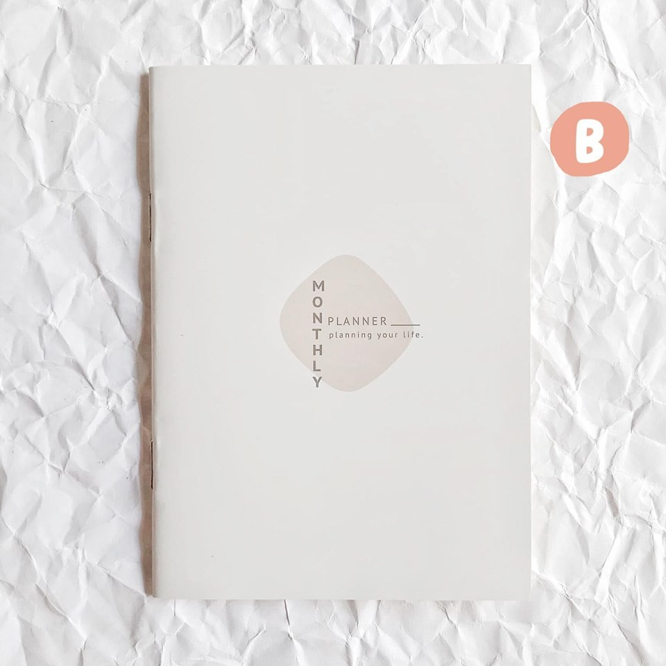Monthly Planner Book Size A6
