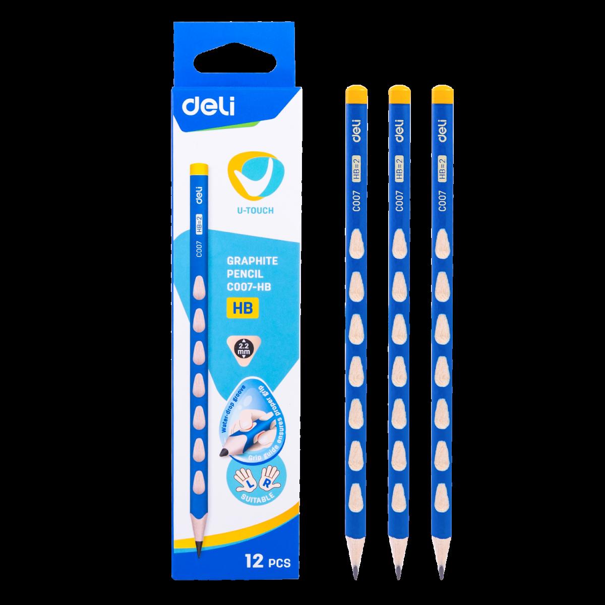 DELI ดินสอไม้ (12แท่ง)